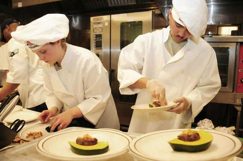veste cuisine